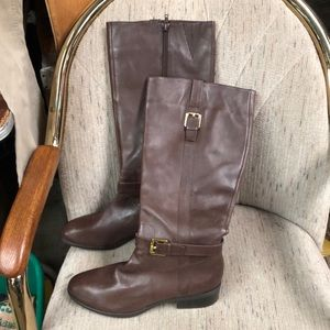 Lauren Ralph Lauren Shoes - Lauren Ralph Lauren Burnish Calf leather boots 8.5